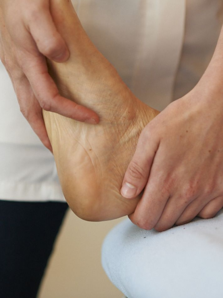 Foot and ankle pain.